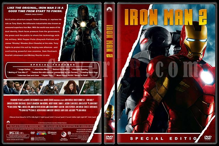 Iron Man Collection (Demir Adam Koleksiyonu) - Custom Dvd Cover Set - English [2008-2010-2013]-2jpg