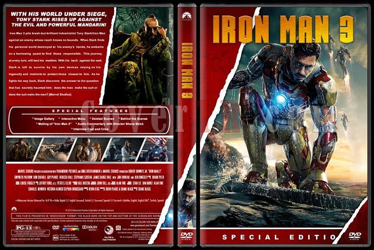 Iron Man Collection (Demir Adam Koleksiyonu) - Custom Dvd Cover Set - English [2008-2010-2013]-3jpg