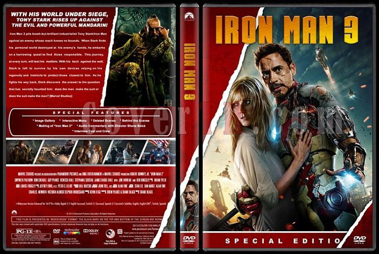 Iron Man Collection (Demir Adam Koleksiyonu) - Custom Dvd Cover Set - English [2008-2010-2013]-4jpg