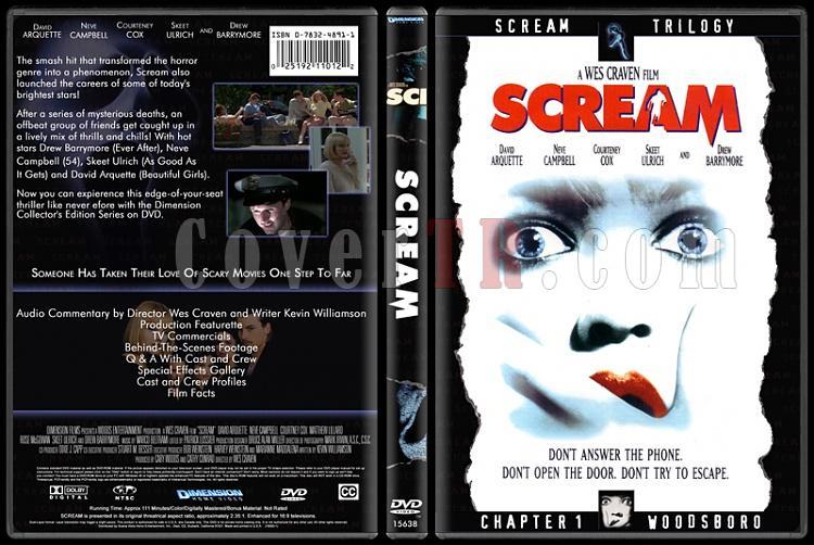 Scream Collection (Çığlık Koleksiyonu) - Custom Dvd Cover Set - English-1jpg