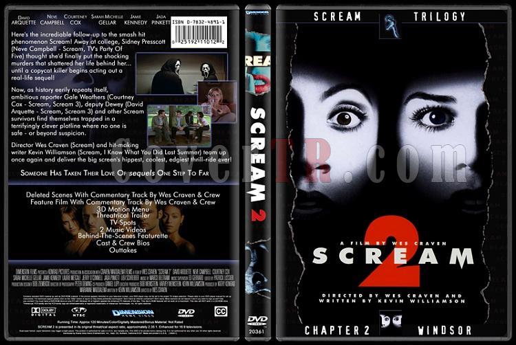 Scream Collection (Çığlık Koleksiyonu) - Custom Dvd Cover Set - English-2jpg