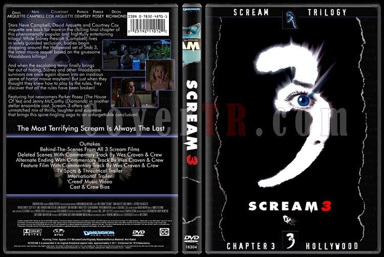 Scream Collection (Çığlık Koleksiyonu) - Custom Dvd Cover Set - English-3jpg