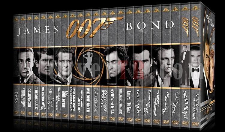 007 James Bond Collection - Custom DVD Cover Set - English-setjpg