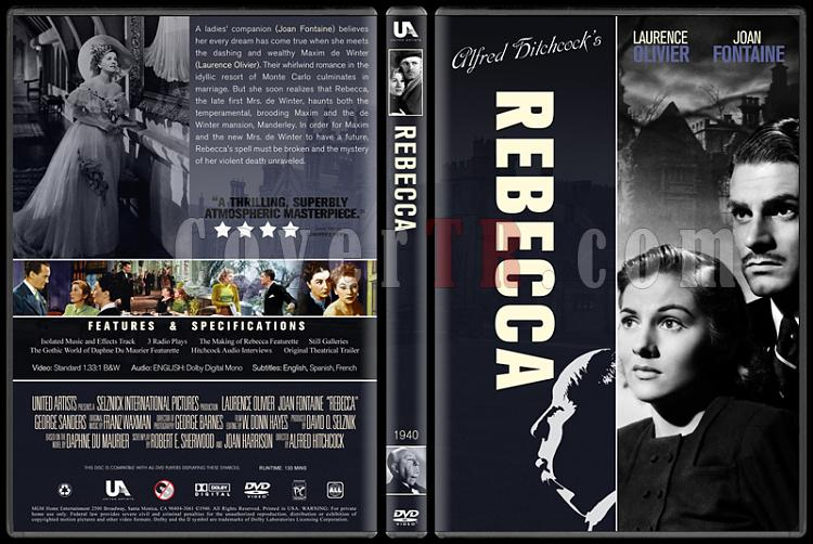 Alfred Hitchcock Collection - Custom Dvd Cover Set - English-3jpg