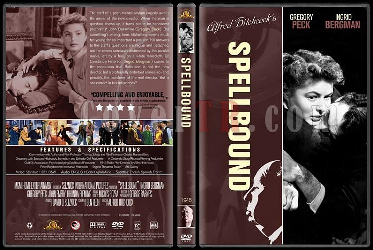 Alfred Hitchcock Collection - Custom Dvd Cover Set - English-4jpg