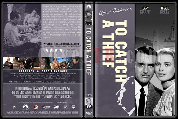 Alfred Hitchcock Collection - Custom Dvd Cover Set - English-9jpg