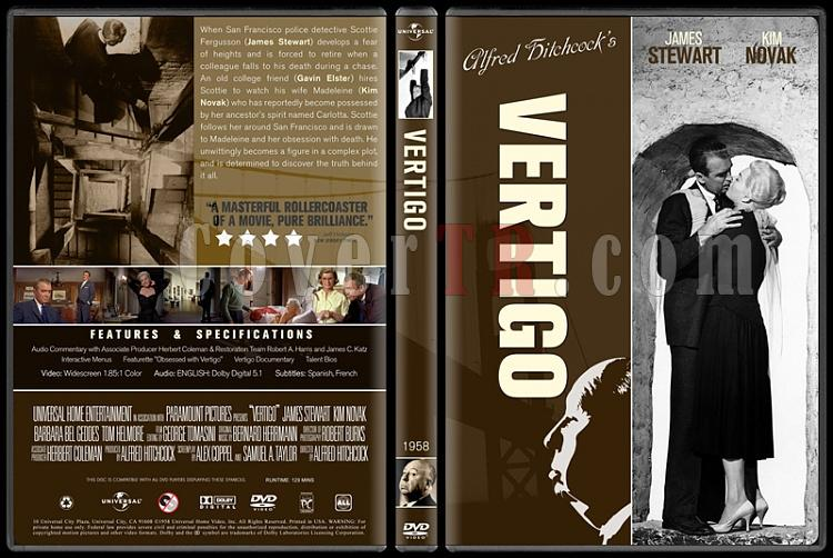 Alfred Hitchcock Collection - Custom Dvd Cover Set - English-11jpg