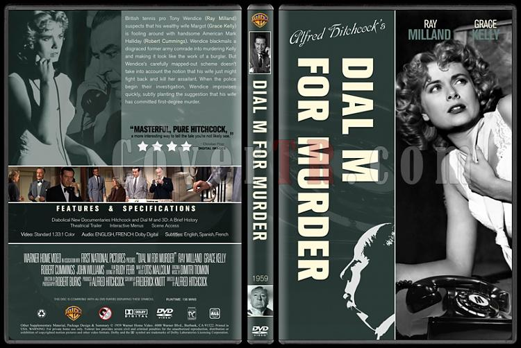 Alfred Hitchcock Collection - Custom Dvd Cover Set - English-12jpg