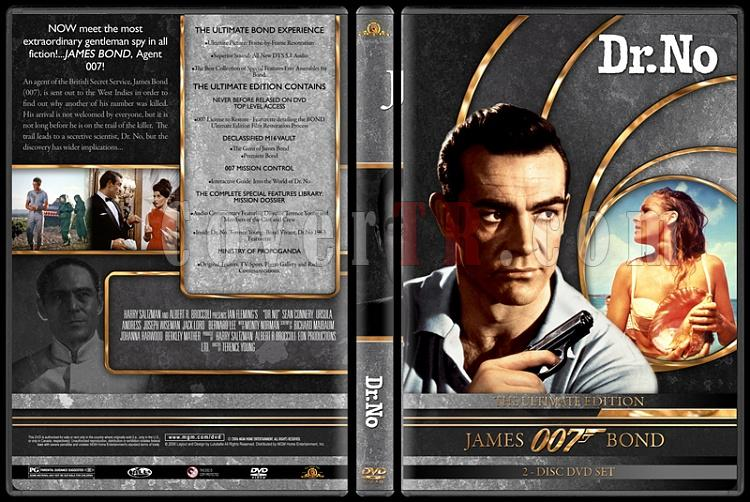 007 James Bond Collection - Custom DVD Cover Set - English-007-james-bond-dr-no-1jpg