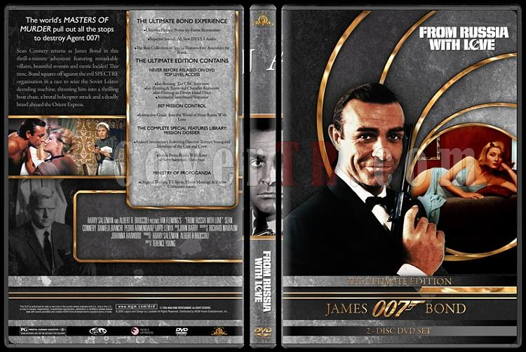 007 James Bond Collection - Custom DVD Cover Set - English-007-james-bond-russia-love-2jpg
