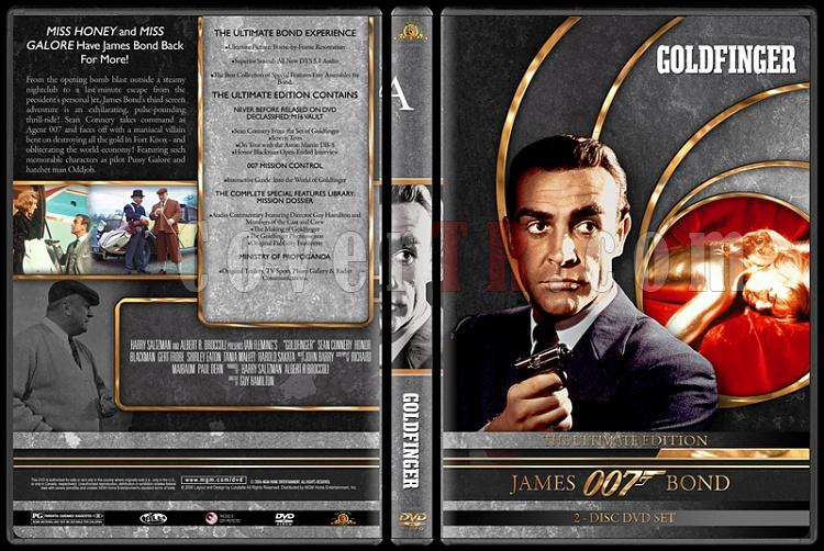 007 James Bond Collection - Custom DVD Cover Set - English-007-james-bond-goldfinger-3jpg