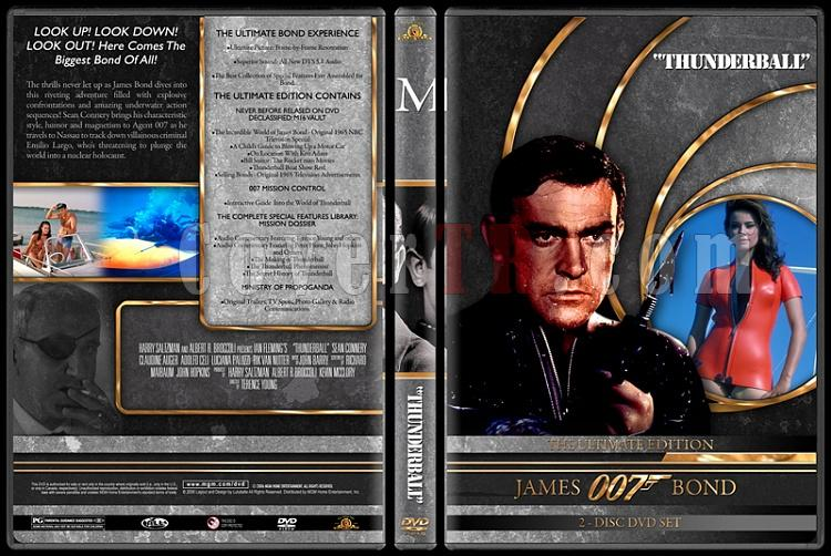 007 James Bond Collection - Custom DVD Cover Set - English-007-james-bond-thunderball-4jpg