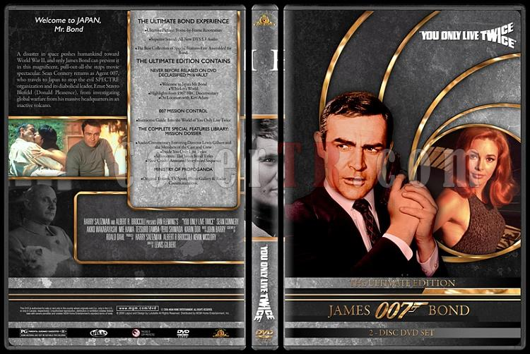 007 James Bond Collection - Custom DVD Cover Set - English-007-james-bond-you-only-live-twice-5jpg