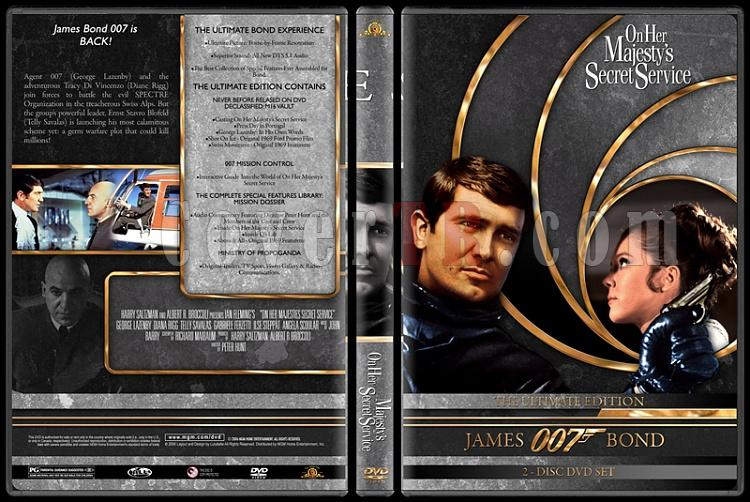 007 James Bond Collection - Custom DVD Cover Set - English-007-james-bond-her-majestys-secret-service-6jpg