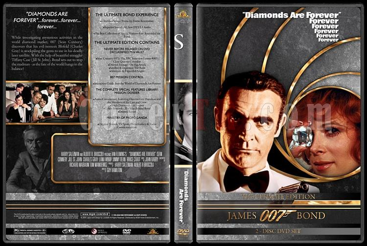 007 James Bond Collection - Custom DVD Cover Set - English-007-james-bond-diamonds-forever-7jpg
