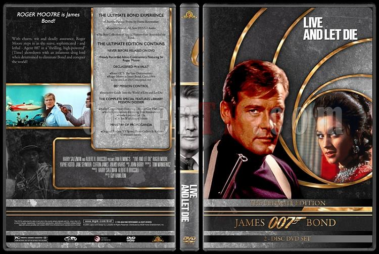 007 James Bond Collection - Custom DVD Cover Set - English-007-james-bond-live-let-die-8jpg