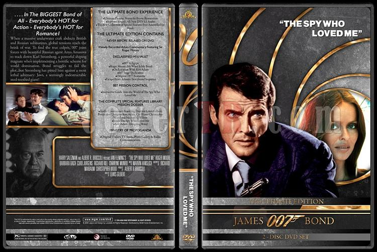 007 James Bond Collection - Custom DVD Cover Set - English-007-james-bond-spy-who-loved-me-10jpg