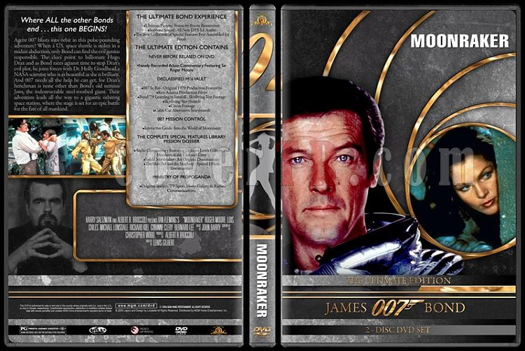 007 James Bond Collection - Custom DVD Cover Set - English-007-james-bond-moonraker-11jpg
