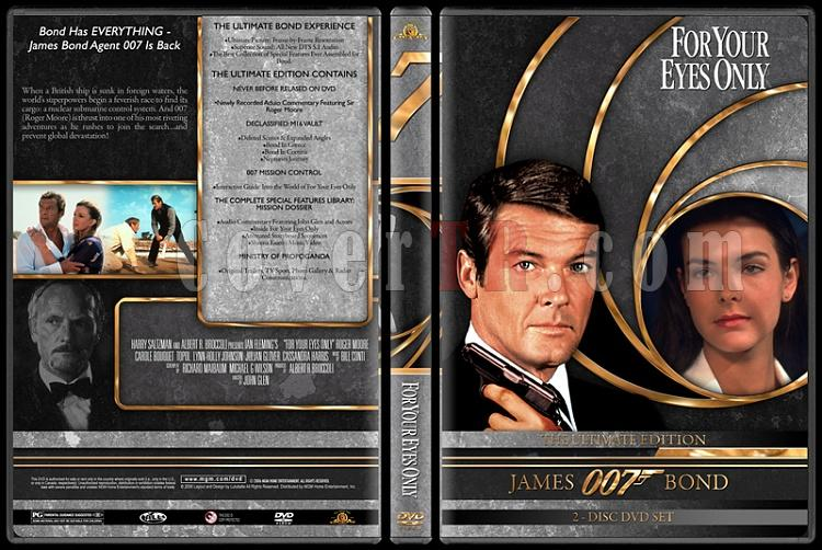 007 James Bond Collection - Custom DVD Cover Set - English-007-james-bond-your-eyes-only-12jpg