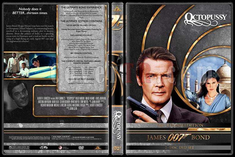 007 James Bond Collection - Custom DVD Cover Set - English-007-james-bond-octopussy-13jpg