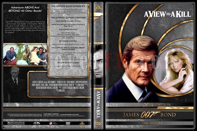 007 James Bond Collection - Custom DVD Cover Set - English-007-james-bond-view-kill-14jpg
