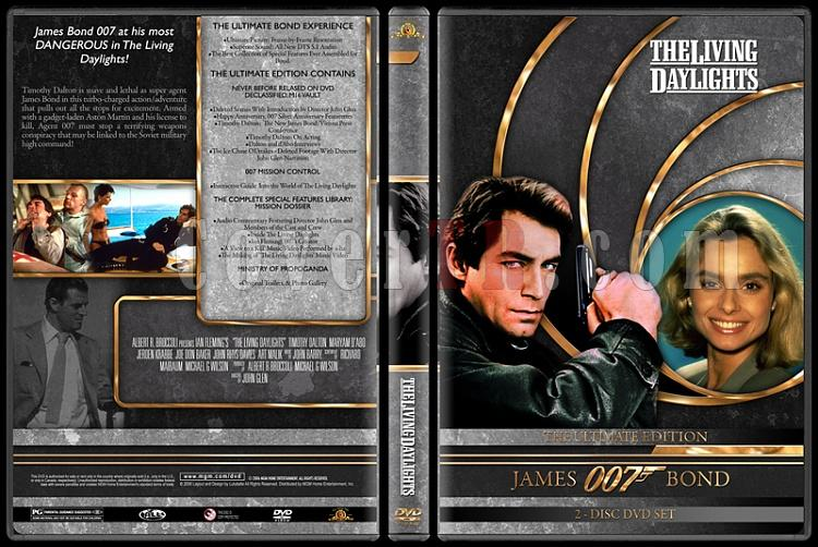 007 James Bond Collection - Custom DVD Cover Set - English-007-james-bond-living-daylights-15jpg