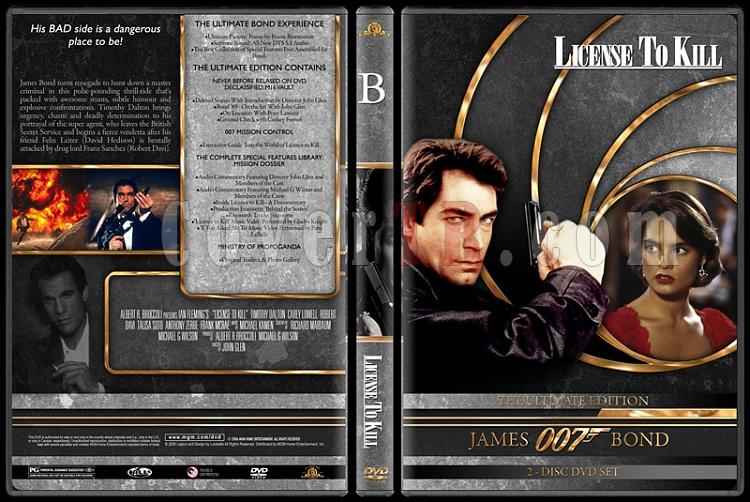 007 James Bond Collection - Custom DVD Cover Set - English-007-james-bond-license-kill-16jpg