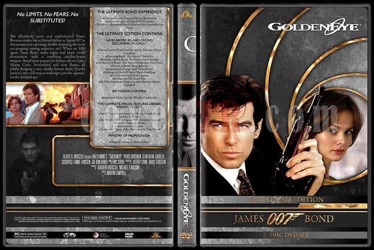 007 James Bond Collection - Custom DVD Cover Set - English-007-james-bond-golden-eye-17jpg