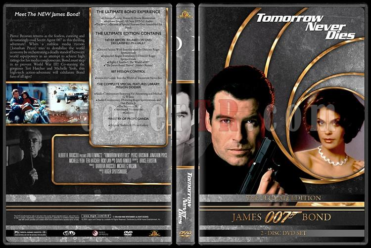 007 James Bond Collection - Custom DVD Cover Set - English-007-james-bond-tomorrow-never-dies-18jpg