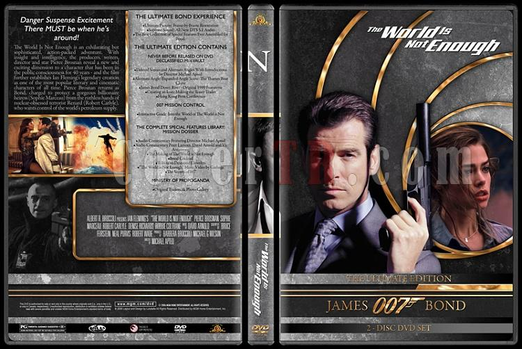 007 James Bond Collection - Custom DVD Cover Set - English-007-james-bond-world-not-enough-19jpg
