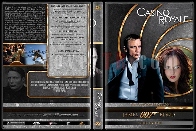 007 James Bond Collection - Custom DVD Cover Set - English-007-james-bond-casino-royale-21jpg