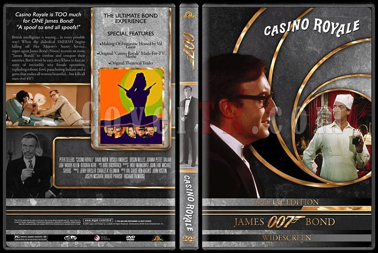 007 James Bond Collection - Custom DVD Cover Set - English-007-james-bond-casino-royal-22jpg