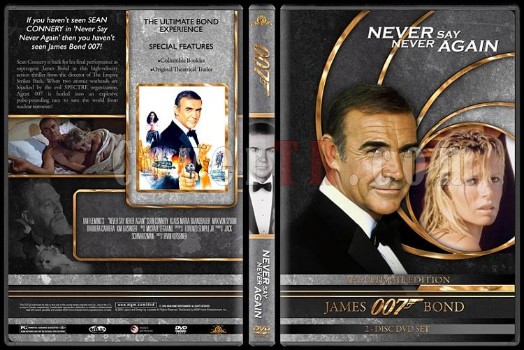 007 James Bond Collection - Custom DVD Cover Set - English-007-james-bond-never-say-never-again-23jpg