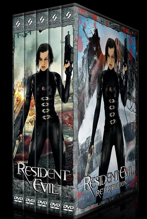Resident Evil (Ölümcül Deney) - Custom Dvd Cover Set - English [2002-2004-2007-2010-2012]-resetjpg