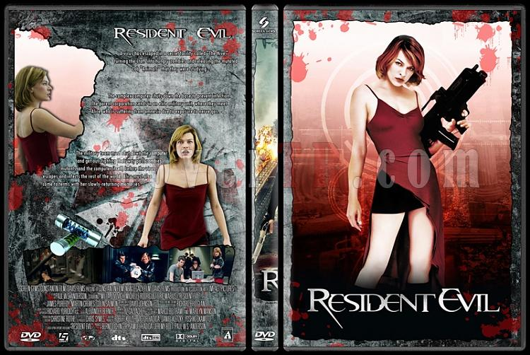 Resident Evil (Ölümcül Deney) - Custom Dvd Cover Set - English [2002-2004-2007-2010-2012]-residenteviljpg