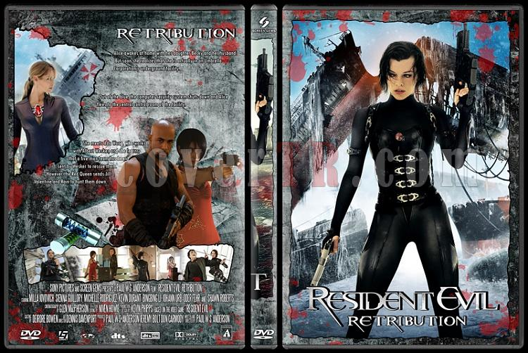 Resident Evil (Ölümcül Deney) - Custom Dvd Cover Set - English [2002-2004-2007-2010-2012]-residentevil5jpg