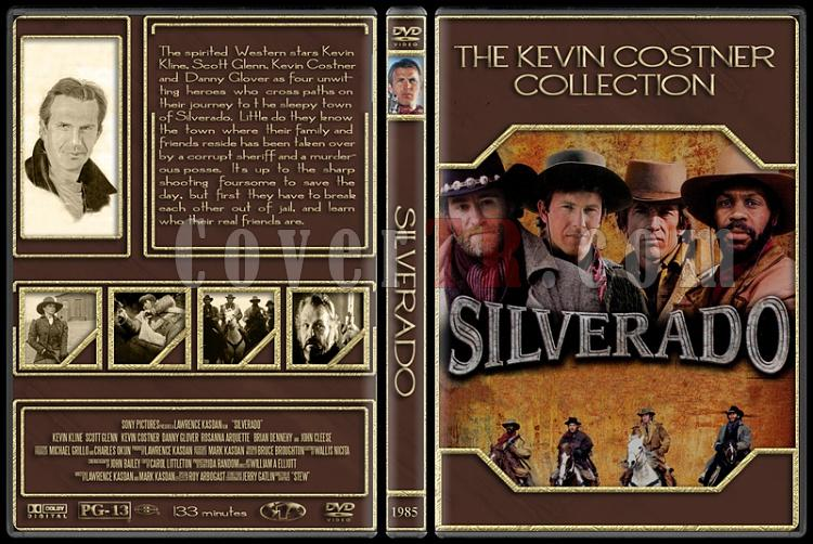 The Kevin Costner Collection - Custom Dvd Cover Set - English [1985-2007]-1985-silveradojpg