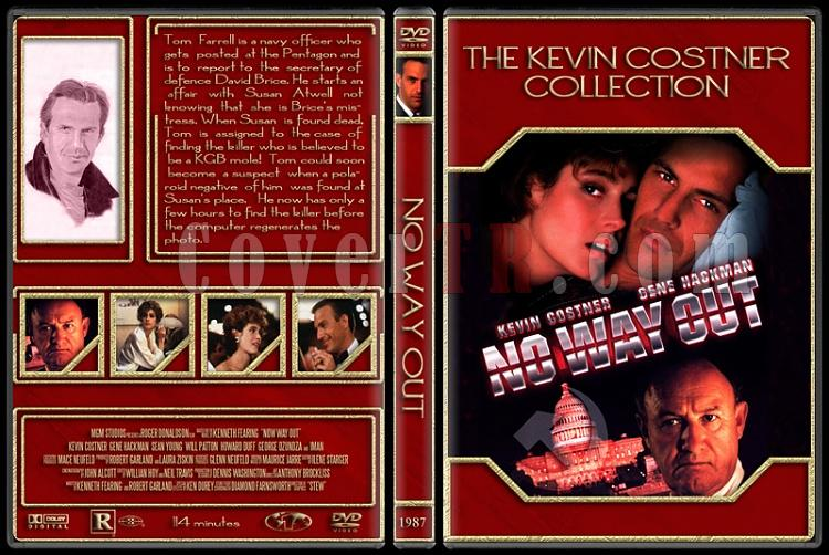 The Kevin Costner Collection - Custom Dvd Cover Set - English [1985-2007]-1987-no-way-outjpg