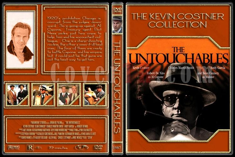 The Kevin Costner Collection - Custom Dvd Cover Set - English [1985-2007]-1987-untouchablesjpg