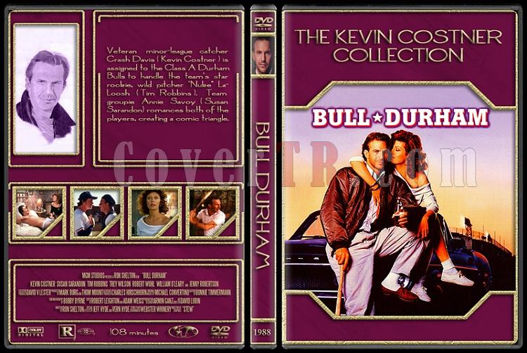 The Kevin Costner Collection - Custom Dvd Cover Set - English [1985-2007]-1988-bull-durhamjpg