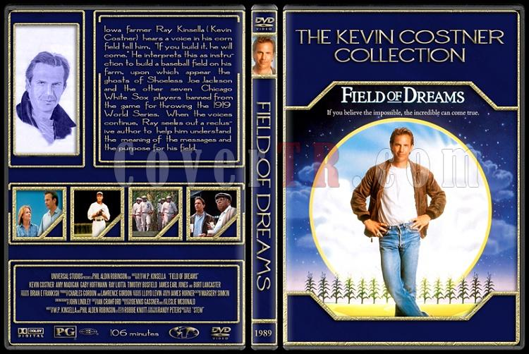 The Kevin Costner Collection - Custom Dvd Cover Set - English [1985-2007]-1989-field-dreamsjpg