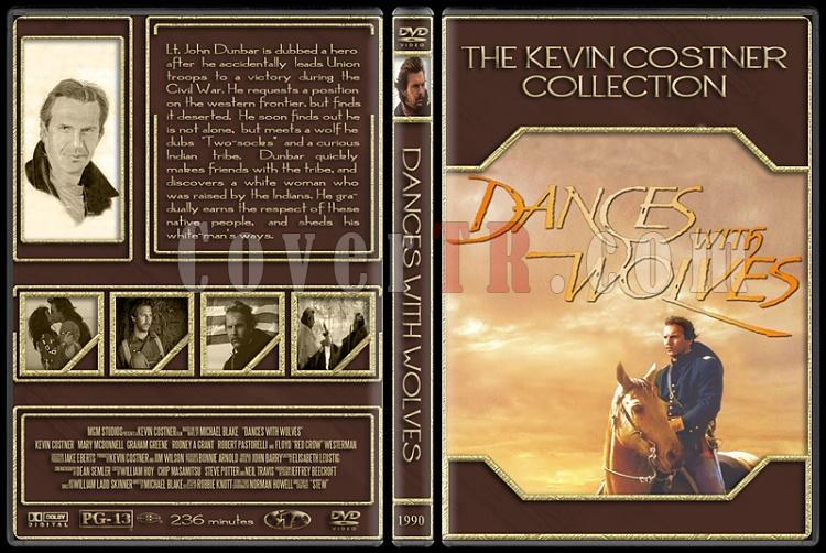 The Kevin Costner Collection - Custom Dvd Cover Set - English [1985-2007]-1990-dances-wolvesjpg