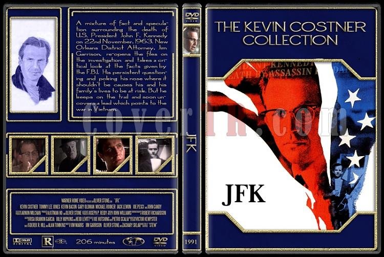 The Kevin Costner Collection - Custom Dvd Cover Set - English [1985-2007]-1991-jfkjpg