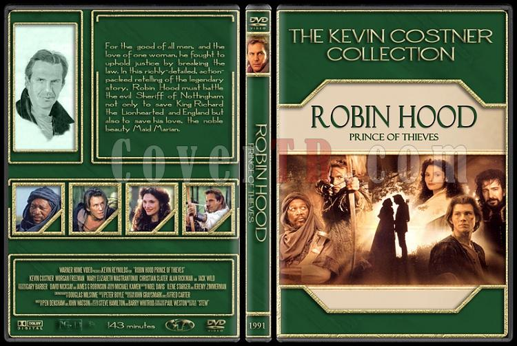 The Kevin Costner Collection - Custom Dvd Cover Set - English [1985-2007]-1991-robin-hood-prince-thievesjpg