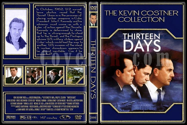 The Kevin Costner Collection - Custom Dvd Cover Set - English [1985-2007]-2000-thirteen-daysjpg