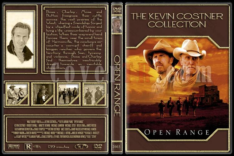 The Kevin Costner Collection - Custom Dvd Cover Set - English [1985-2007]-2003-open-rangejpg