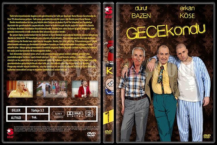 Gecekondu - Custom Dvd Cover Set - Türkçe [2010-2011]-1jpg