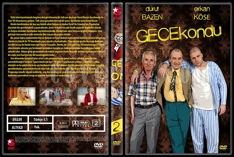 Gecekondu - Custom Dvd Cover Set - Türkçe [2010-2011]-2jpg