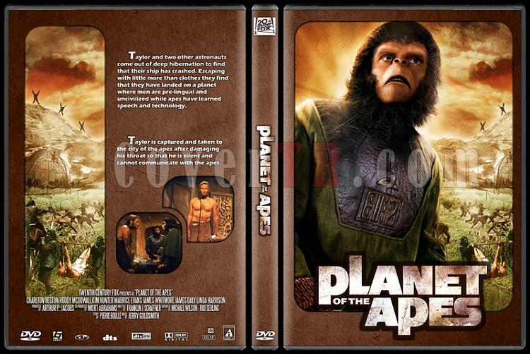 Planet of the Apes Collection - Custom Dvd Cover Set - English [1968-1970-1971-1972-1973]-1jpg