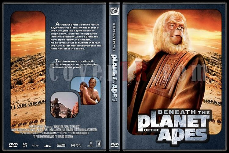 Planet of the Apes Collection - Custom Dvd Cover Set - English [1968-1970-1971-1972-1973]-2jpg